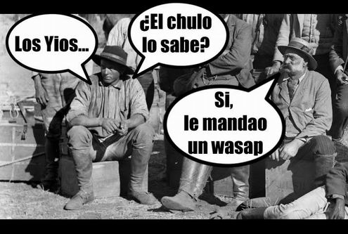 Avisao está El Chulo.....