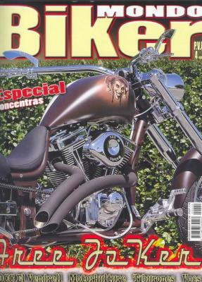 Revista Mondo Biker (agosto de 2009)