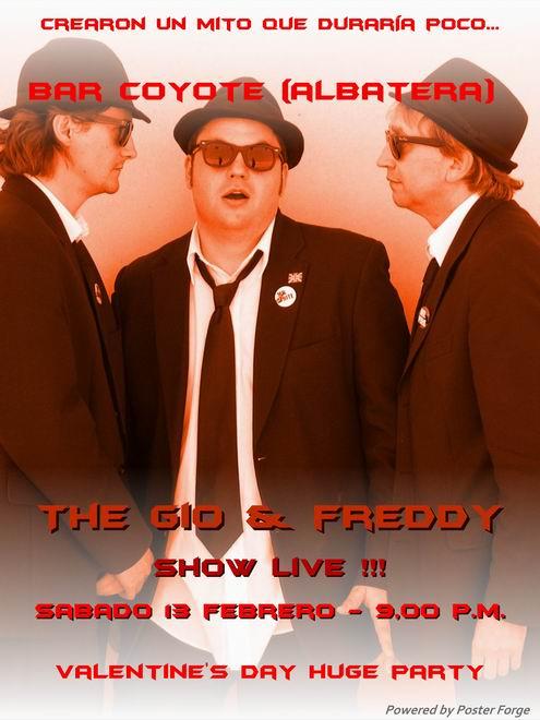 viernes 12 en La Luna Bar (Punta Prima) y sábado 13 en el Coyote de Albatera...unplugged!!