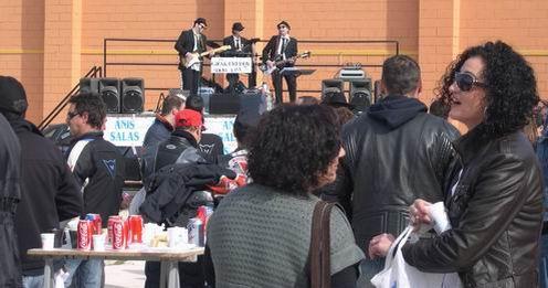 Concentración Motera en Pinoso, domingo 11 abril 2010
