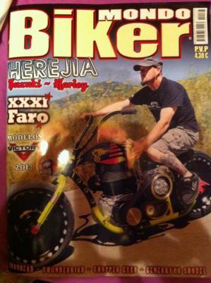 Salimos en el Mondo Biker nº66 (y muy guapos)